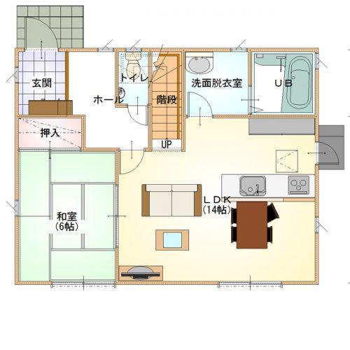 シンプルデザインハウス02-1F