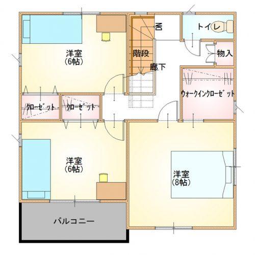 シンプルデザインハウス03-2F