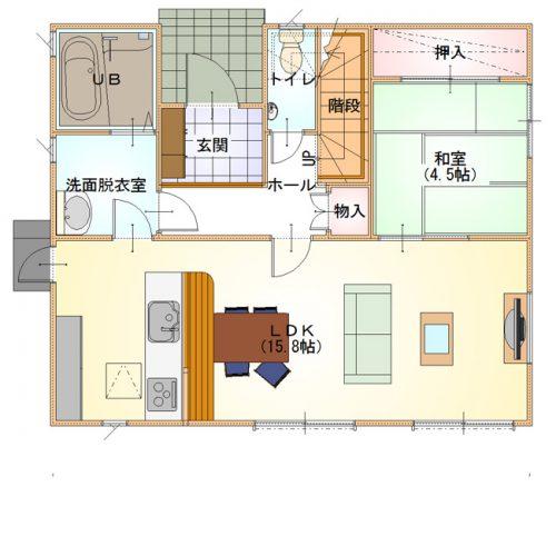 シンプルデザインハウス04-1F