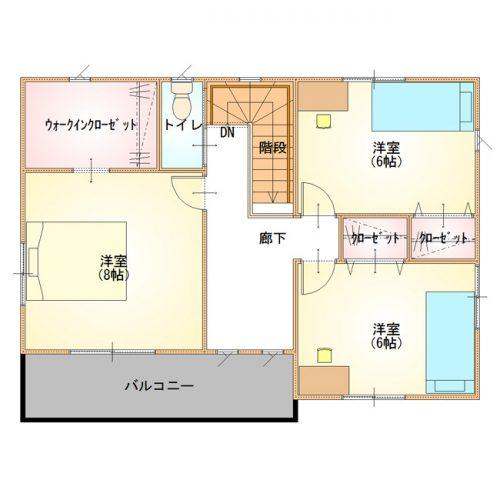 シンプルデザインハウス06-2F