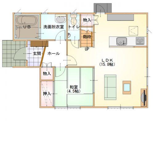 シンプルデザインハウス08-1F
