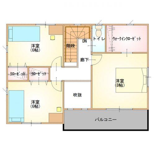 シンプルデザインハウス10-2F