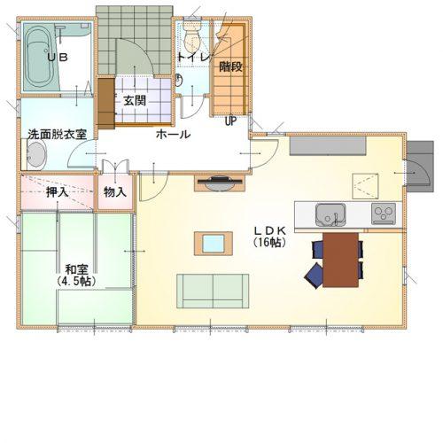 シンプルデザインハウス11-1F
