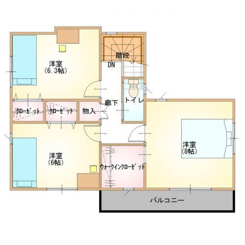 シンプルデザインハウス11-2F