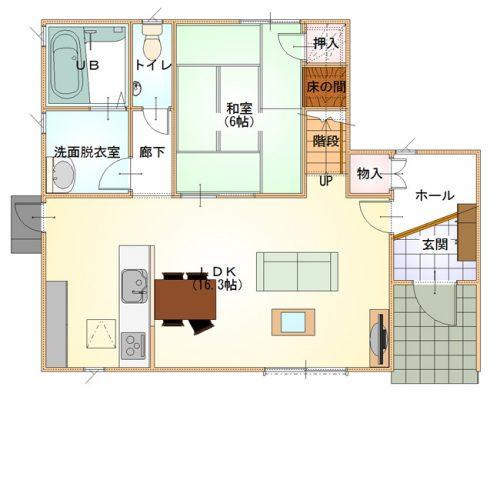 シンプルデザインハウス12-1F