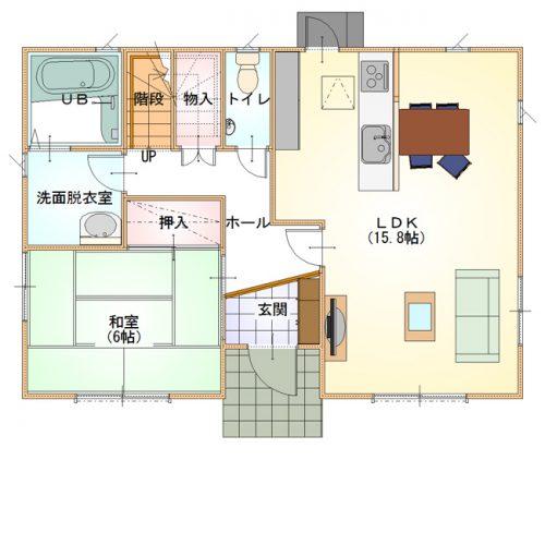 シンプルデザインハウス13-1F