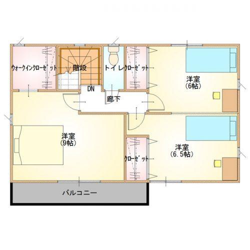 シンプルデザインハウス13-2F