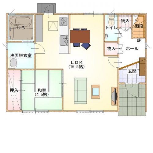 シンプルデザインハウス14-1F